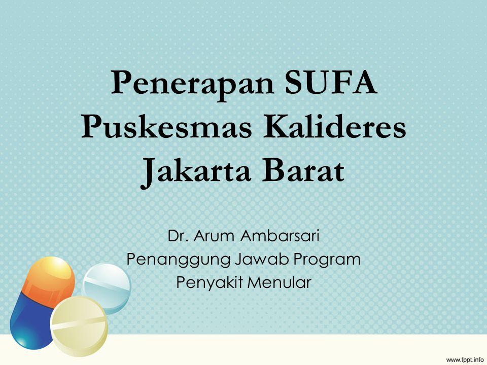Penerapan SUFA Puskesmas Kalideres Jakarta Barat Dr.