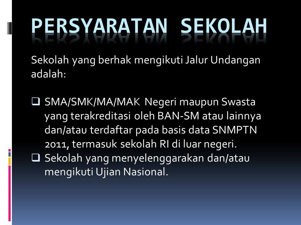 a.Siswa SMA/SMK/MA/MAK kelas terakhir yang akan mengikuti UN pada tahun 2012.