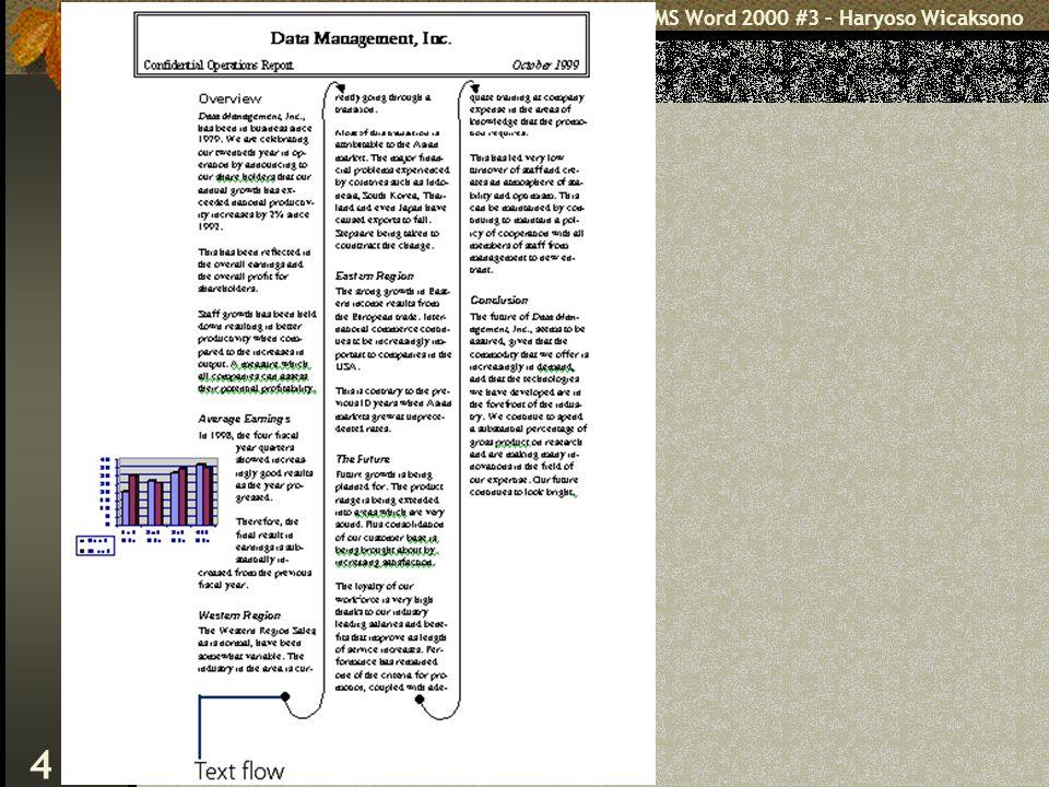MS Word 2000 #3 – Haryoso Wicaksono 4