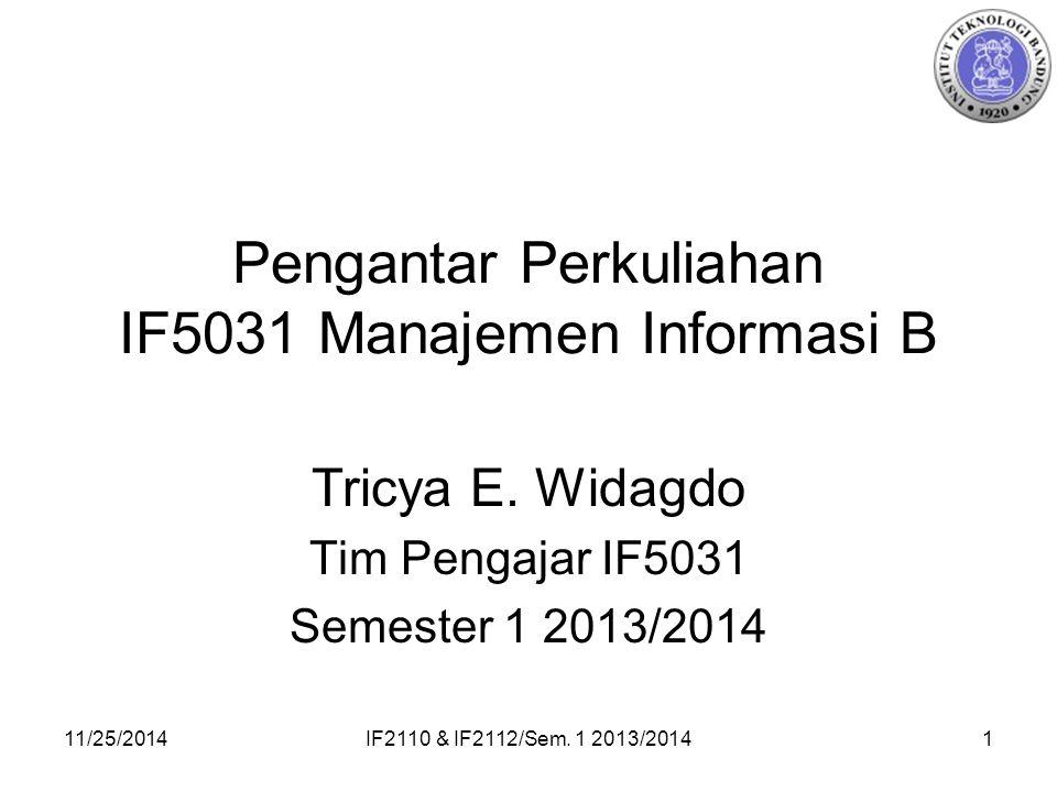 11/25/2014IF2110 & IF2112/Sem.