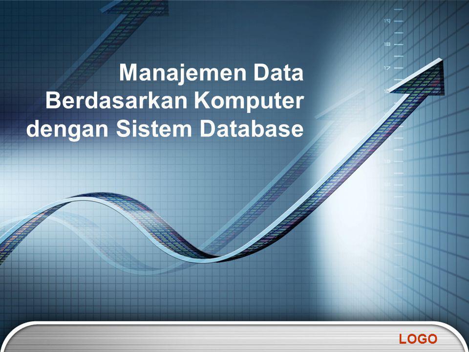 LOGO Manajemen Data Berdasarkan Komputer dengan Sistem Database