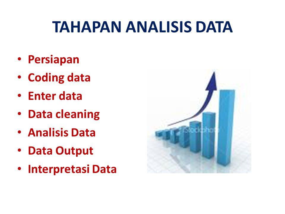 PERSIAPAN Persiapan dapat dilakukan dengan cara: -Mengumpulkan dan mengorganisasi kuesioner yang digunakan dalam penelitian -Mengecek kelengkapan identitas -Mengecek kelengkapan data -Mengecek isian data