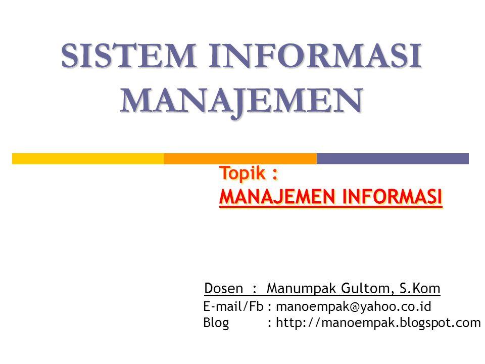 22 END USER COMPUTING (EUC) End User Computing (EUC) :  Mengembangkan sebagian atau seluruh informasi.