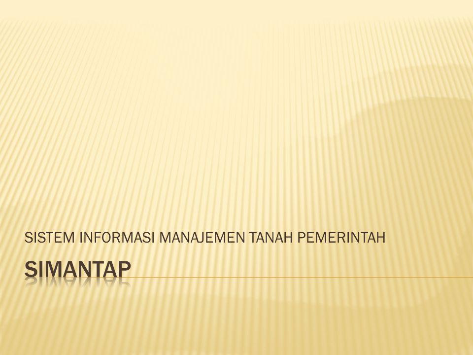  Untuk memenuhi kebutuhan dalam rangka pelaksanaan sertipikasi BMN, sesuai kesepakatan antara BPN, Kementerian PPN/Bappenas, DJA, dan DJKN, berupa:  Pemetaan sebaran data sertipikasi tanah  Identifikasi status penguasaan dan dokumen kepemilikan tanah