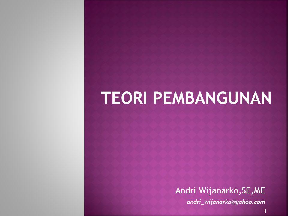 1 Andri Wijanarko,SE,ME andri_wijanarko@yahoo.com