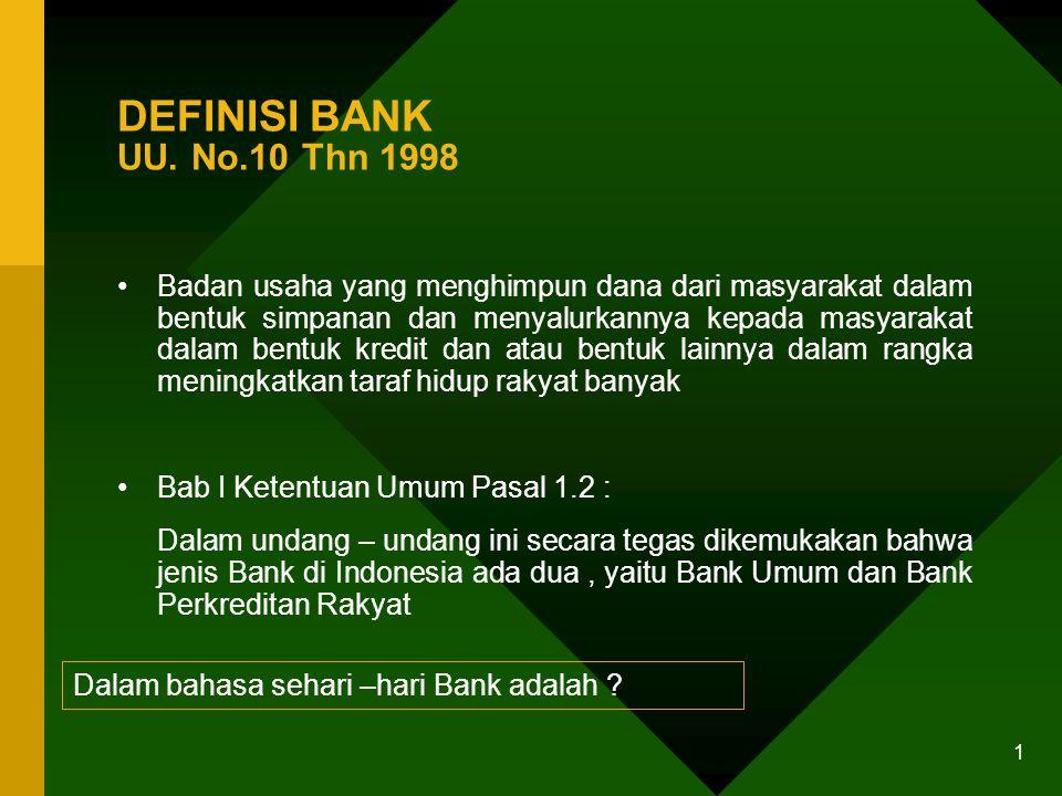 0 USAHA PERBANKAN & AKSES UKM KE JASA KREDIT PERBANKAN Tujuan Pelatihan : BDSP / Penyedia Jasa Layanan UKM dan Bank memahami pola pikir dunia perbanka