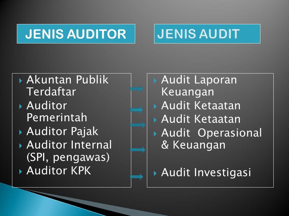  Pemeriksaan yang dilakukan oleh bagian internal perusahaan terhadap ◦ Lap.