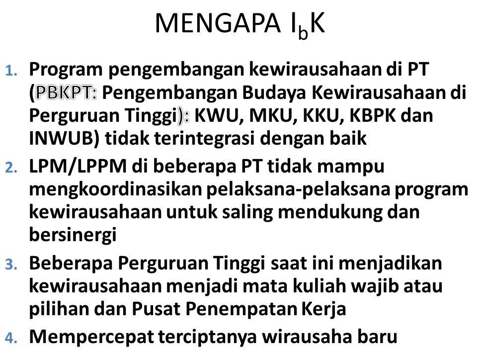 MENGAPA I b K