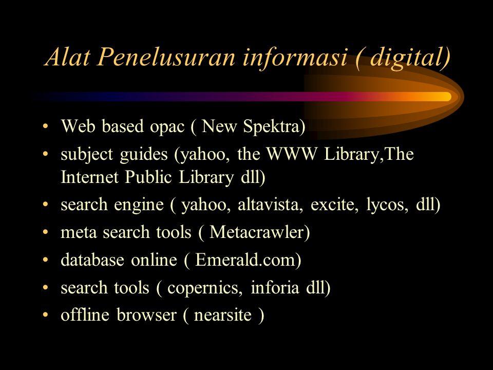 Peranan Perpustakaan : pendidik Mengajar ( IT skills, search strategy etc..) online atau off-line menyediakan forum-forum diskusi ( kesempatan untuk pengembangan diri) menyediakan kesempatan untuk berpikir kritis, kreatif serta menjadi pencipta informasi