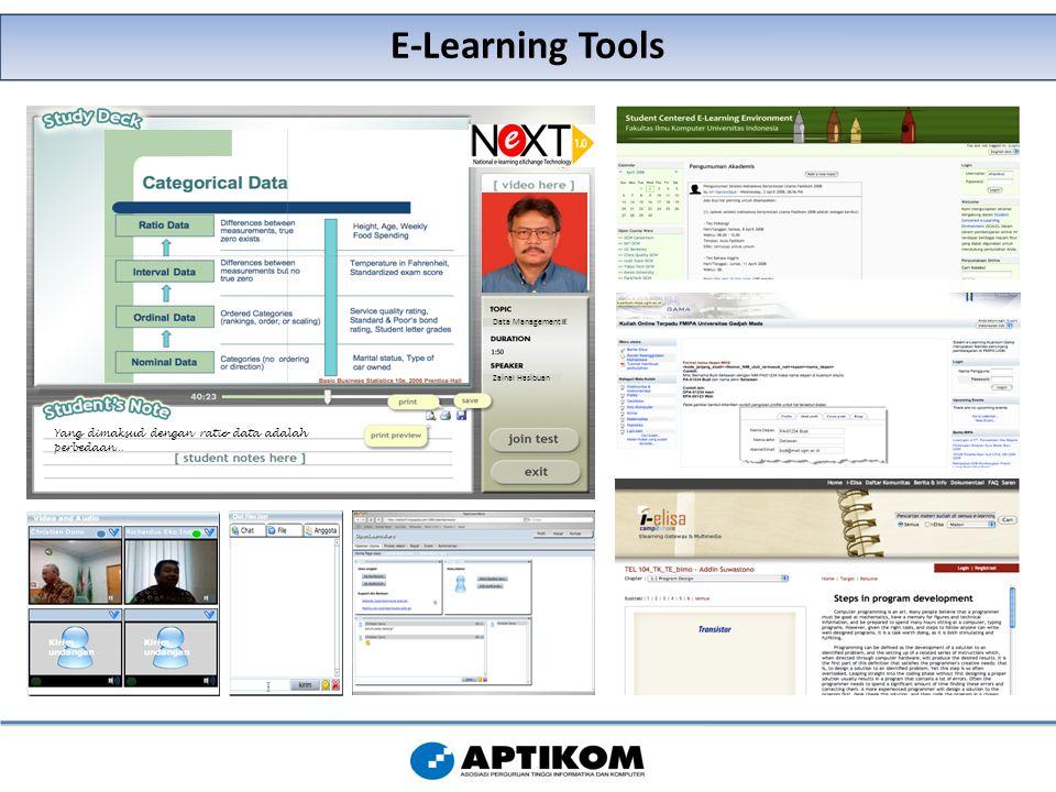 E-Learning Tools Data Management Zainal Hasibuan Yang dimaksud dengan ratio data adalah perbedaan…