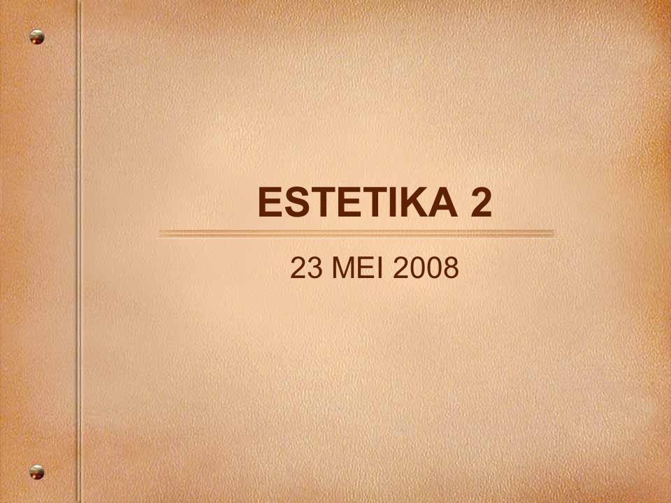 ESTETIKA 2 23 MEI 2008