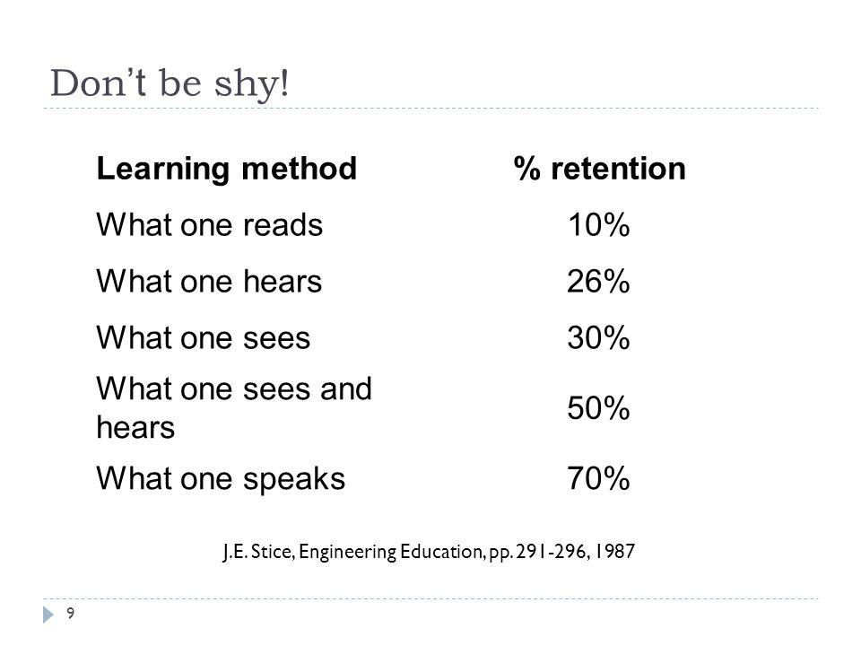 Review Syllabus 10