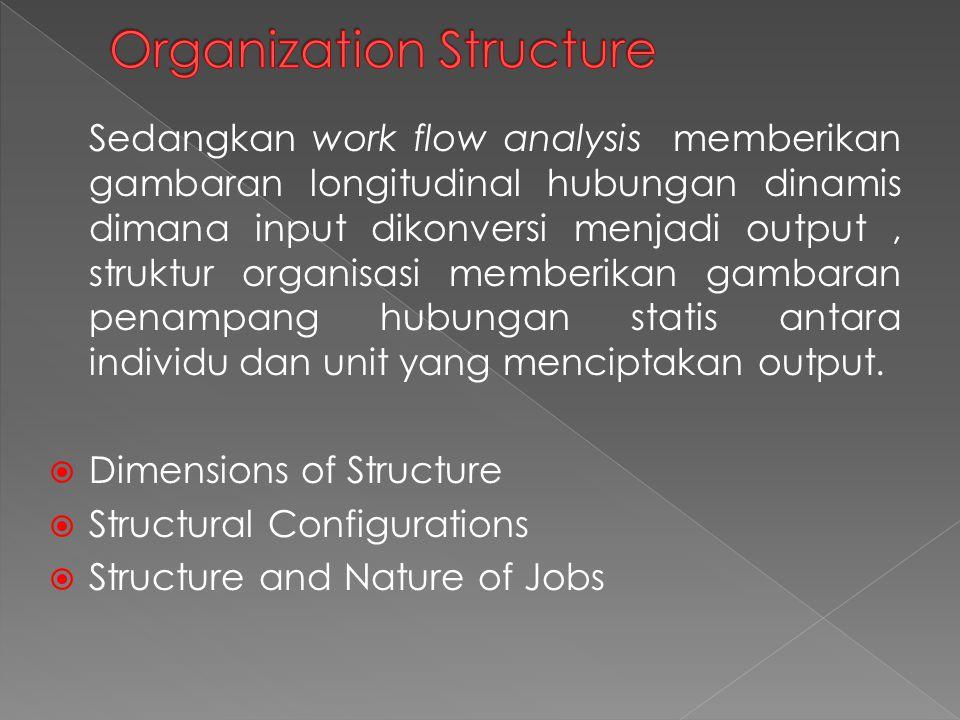 Analisis pekerjaan mengacu pada proses mendapatkan informasi rinci tentang pekerjaan.