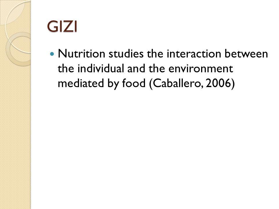 GIZI KURANG Kekurangan Energi Protein (KEP), Defisiensi Vitamin A, Anemis Defisiensi zat Besi, dan Gangguan Akibat Kekurangan lodium (GAKI).