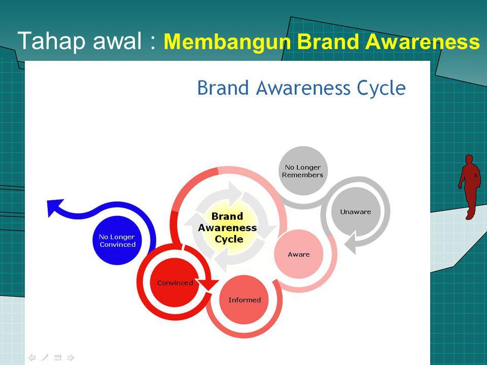 Tahap awal : Membangun Brand Awareness