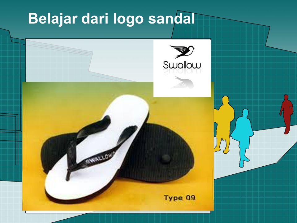 Belajar dari logo sandal