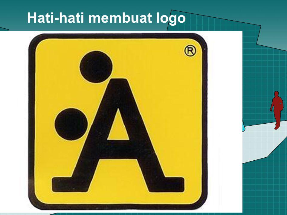 Hati-hati membuat logo