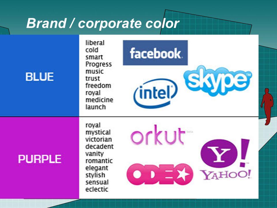 Brand / corporate color