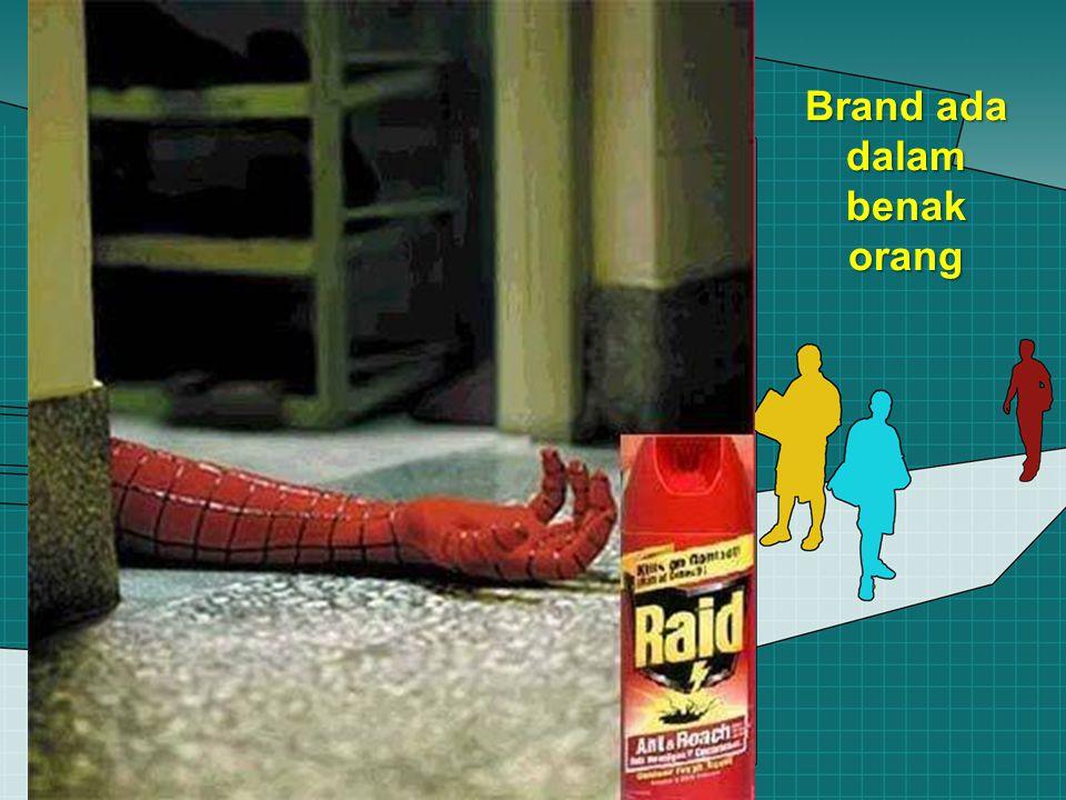 Brand ada dalam benak orang