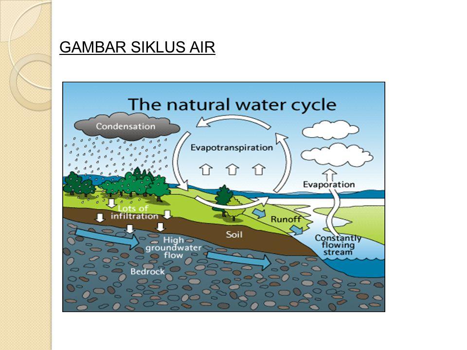  Hubungan air dengan manusia .Air bersih penting bagi kehidupan manusia.