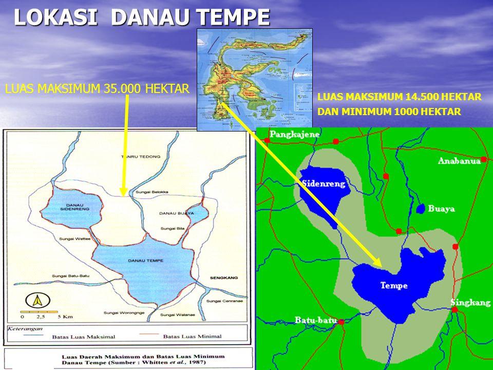 JUMLAH ALAT TANGKAP DI DANAU TEMPE MENURUT KABUPATEN (MALLAWA, 2003)