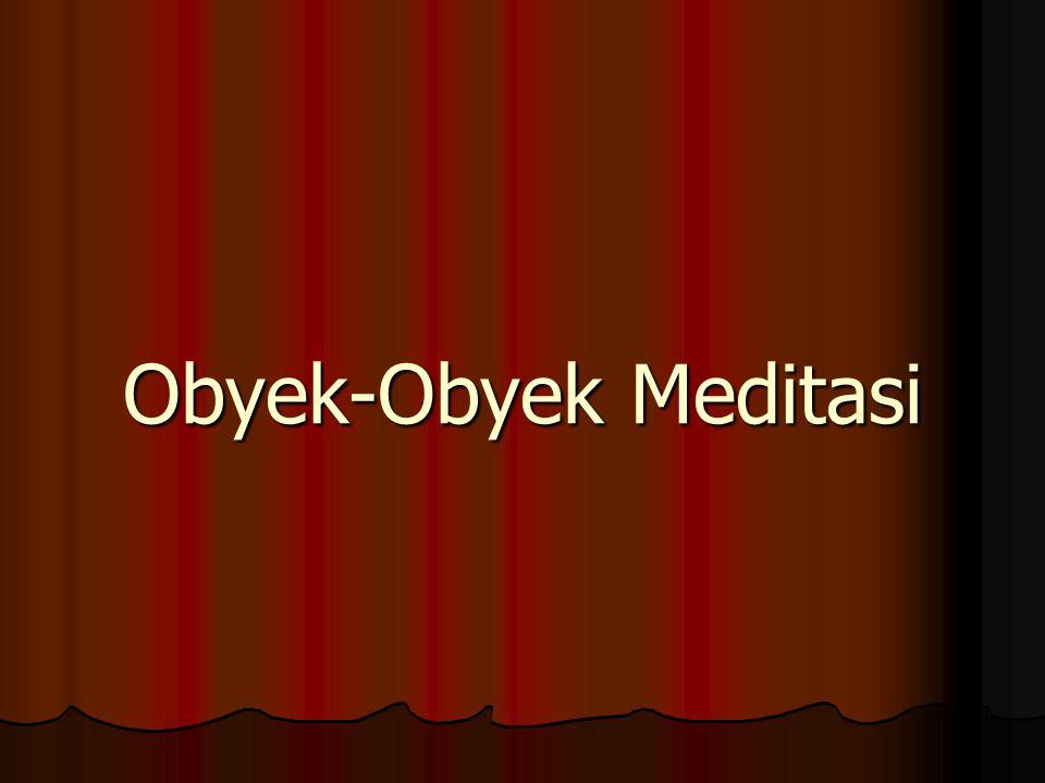 Obyek-Obyek Meditasi
