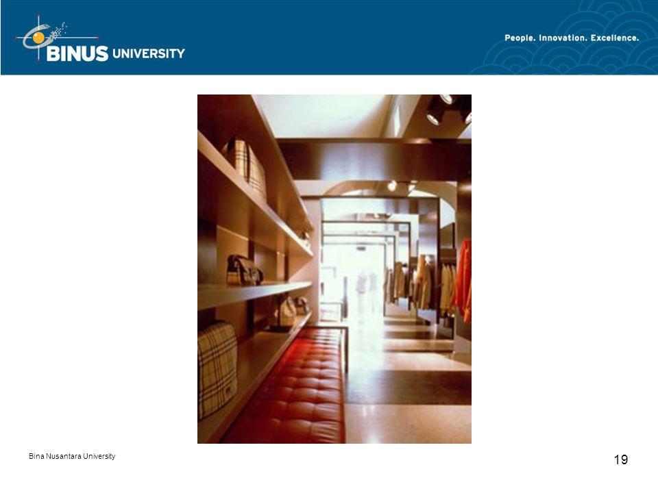 Bina Nusantara University 19