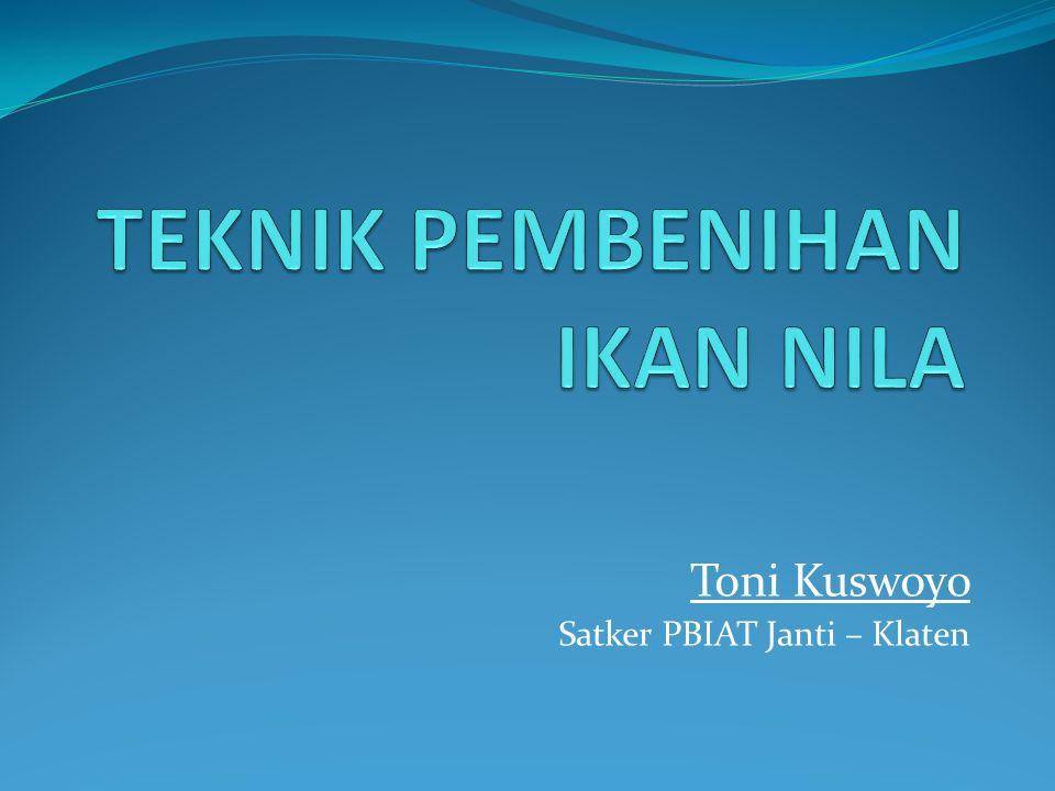 Toni Kuswoyo Satker PBIAT Janti – Klaten