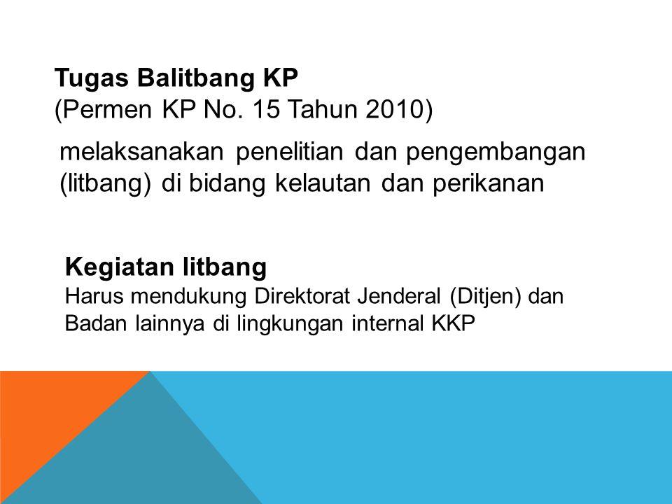 PERBANDINGAN JUMLAH JABATAN DI BALITBANG KP Jumlah Pegawai 1302