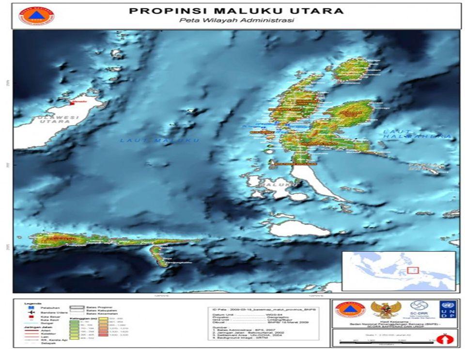 Maluku Selatan Maluku Selatan secara geologi merupakan Busur Banda, yaitu sistem kepulauan yang membentuk busur mengelilingi tapal kuda basin Laut Banda yang membuka ke arah barat Sistem Kepulauan Maluku Selatan dibedakan menjadi busur dalam yang vulkanis dan busur luar yang non vulkanis.