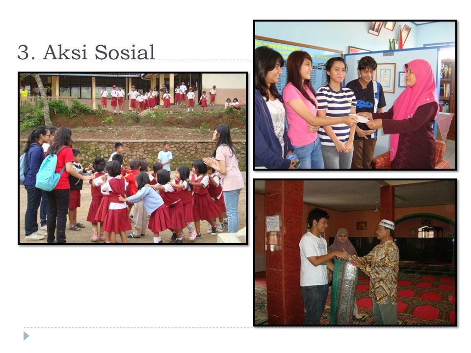 3. Aksi Sosial