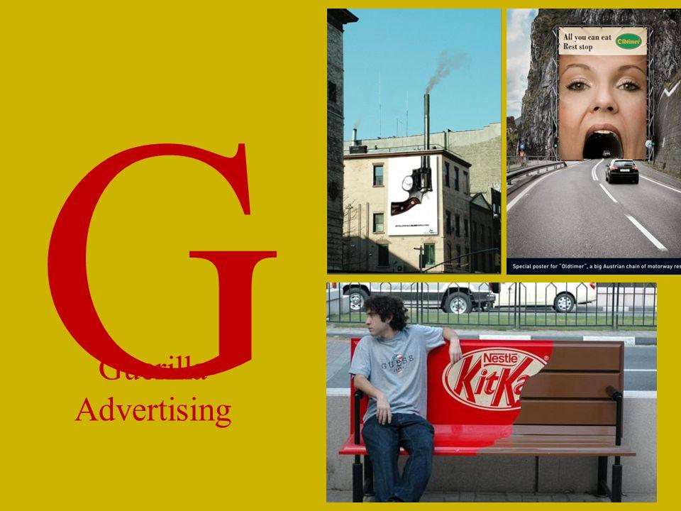 G Guerilla Advertising