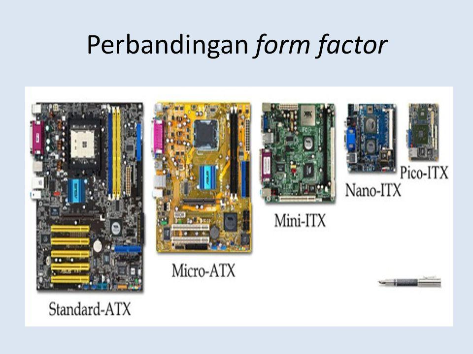 Perbandingan form factor