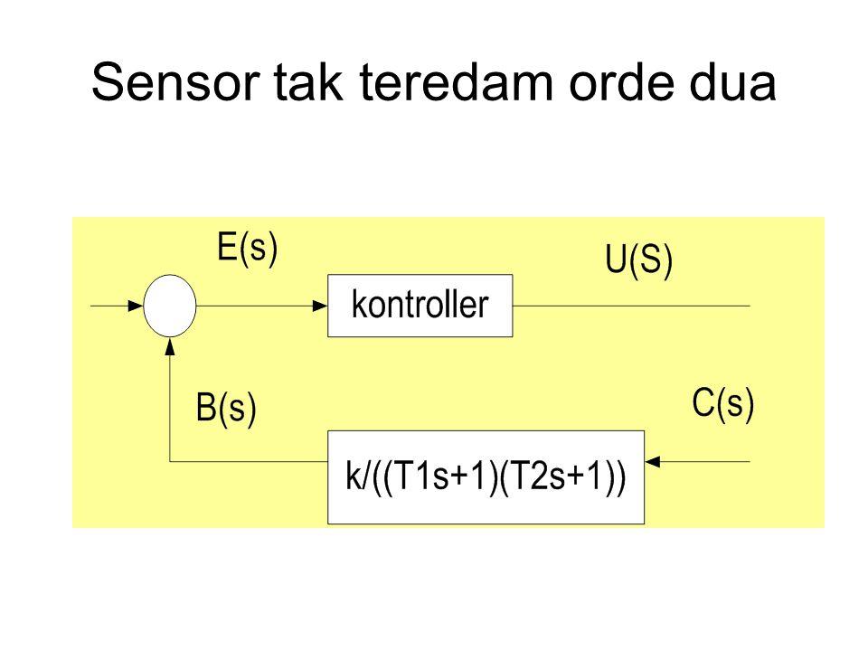 Sensor tak teredam orde dua