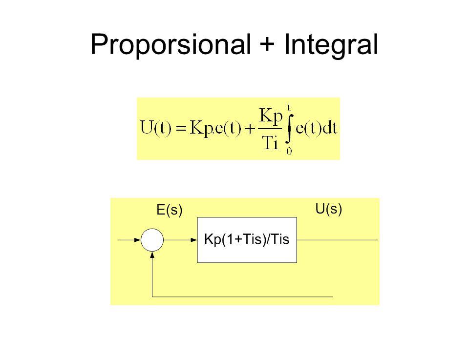 Proporsional + Integral