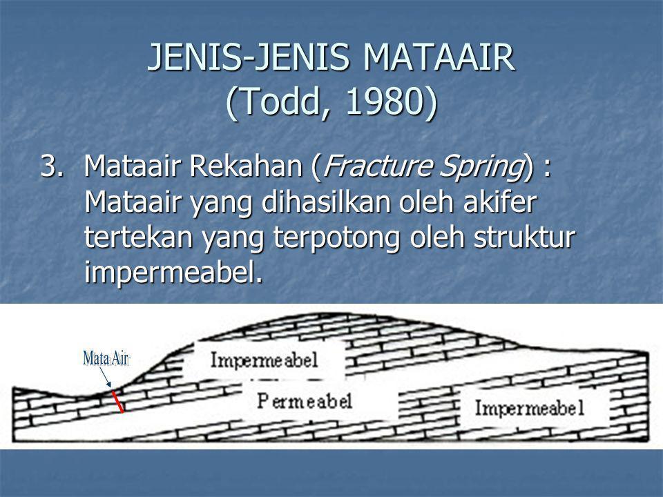 JENIS-JENIS MATAAIR (Todd, 1980) 3.