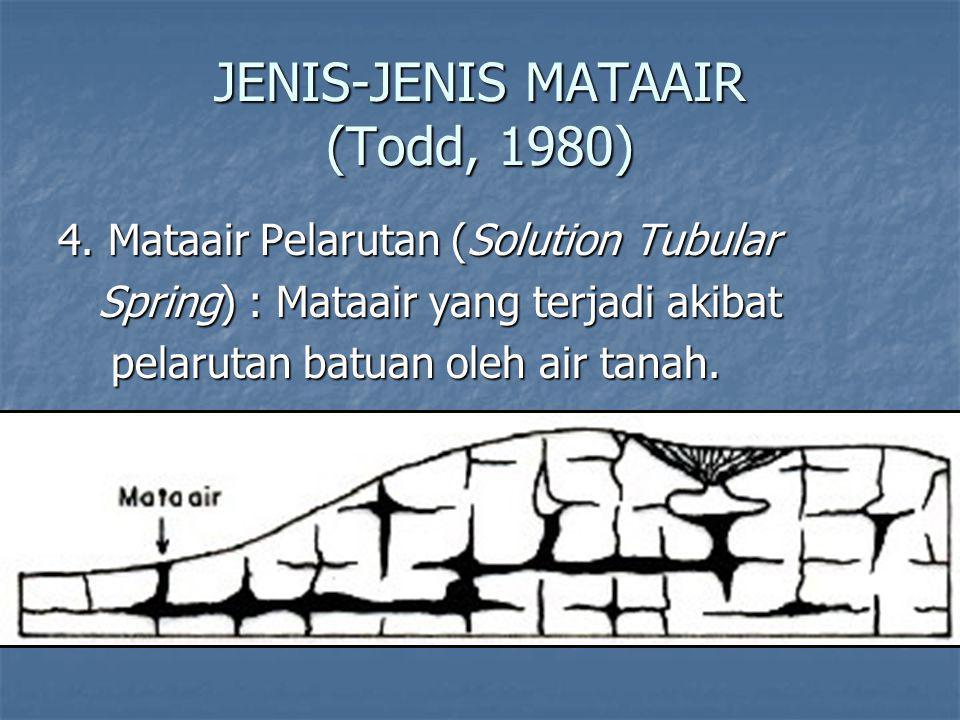 JENIS-JENIS MATAAIR (Todd, 1980) 4.