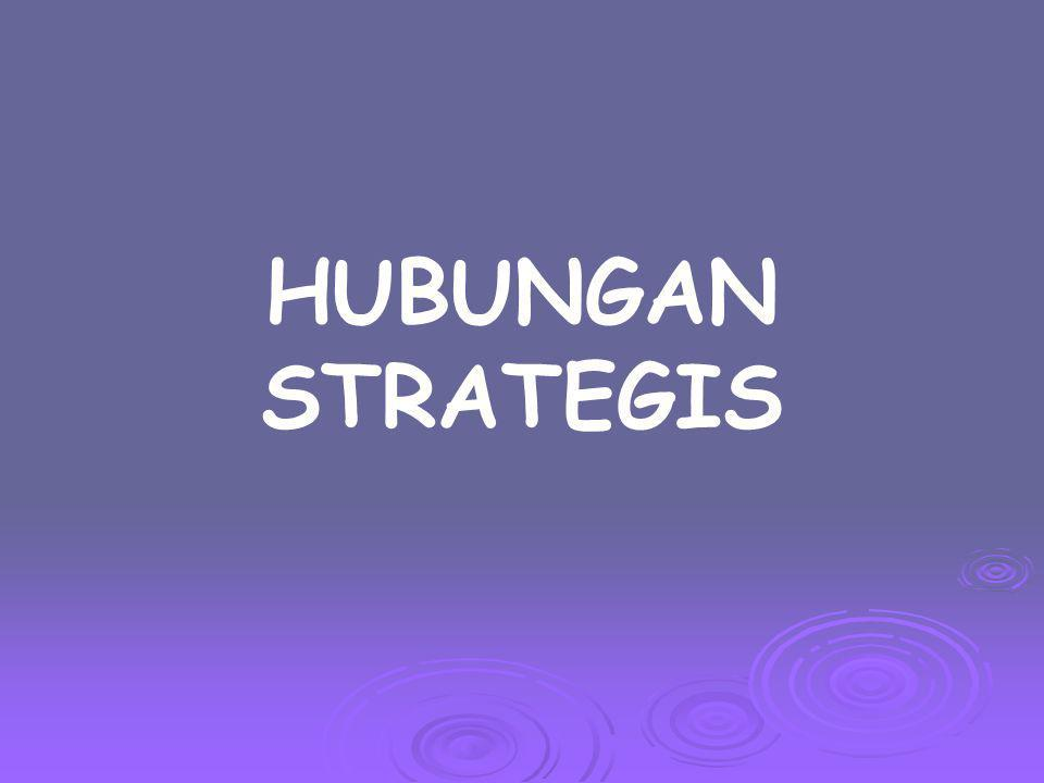 HUBUNGAN STRATEGIS