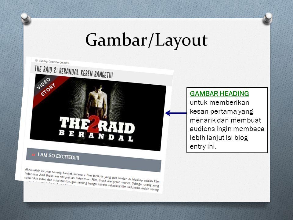 Gambar/Layout GAMBAR HEADING untuk memberikan kesan pertama yang menarik dan membuat audiens ingin membaca lebih lanjut isi blog entry ini.