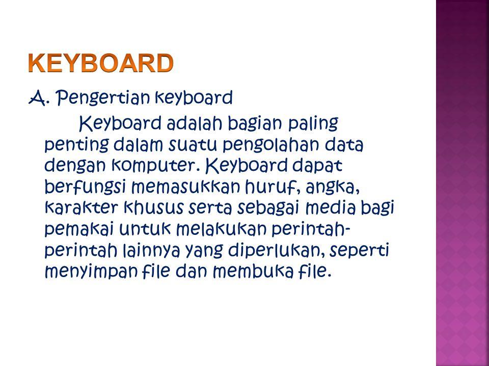 keyboard komputer diciptakan dari model mesin ketik yang diciptakan dan dipatentkan oleh Christopher Latham pada tahun 1868, Dan pada tahun 1887 diproduksi dan dipasarkan oleh perusahan Remington.