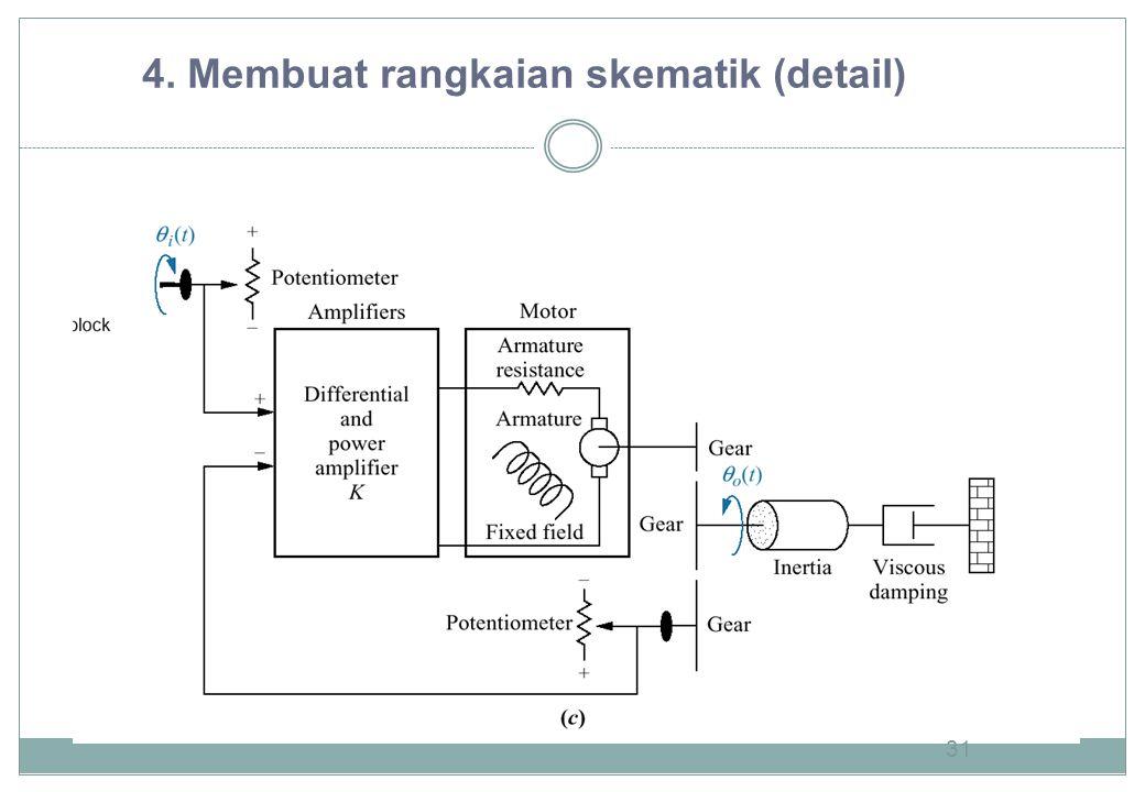 31 4. Membuat rangkaian skematik (detail)
