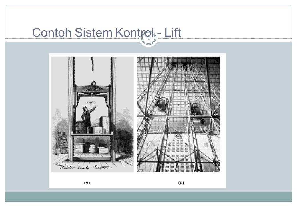 9 Contoh Sistem Kontrol - Lift