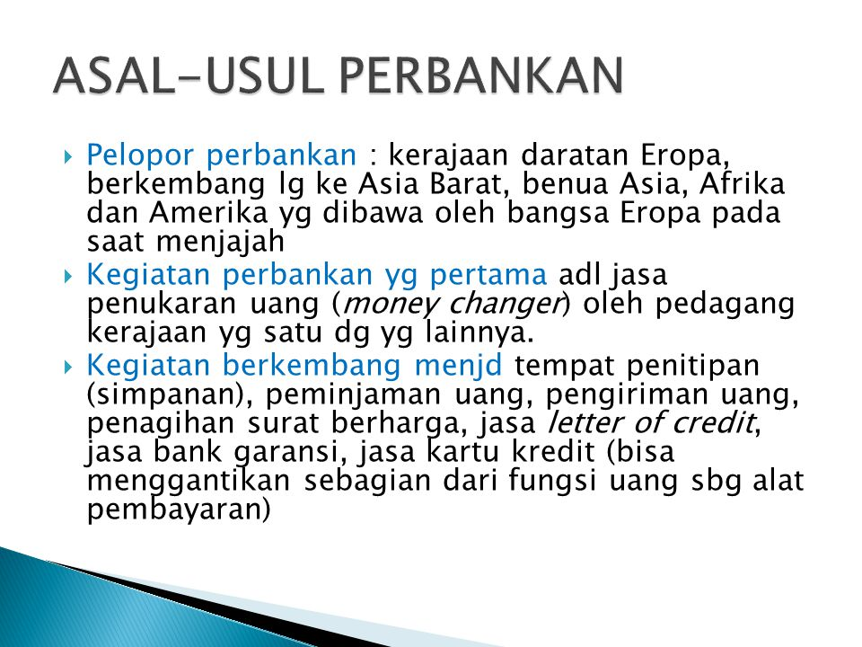  BANK RAKYAT INDONESIA (BRI)  22 FEBRUARI 1946  BANK NASIONAL INDONESIA (BNI)  5 JULI 1946  BANK SURAKARTA MAI (MASKAPAI ADIL MAKMUR) TH 1945 DI SOLO  BANK INDONESIA DI PALEMBANG TAHUN 1946  BANK DAGANG NASIONAL INDONESIA TH 1946 DI  INDONESIAAN BANKING CORPORATION TH 1947 DI YOGJAKARTA, KEMUDIAN MENJD BANK AMERTA  NV BANK SULAWESI DI MENADO TH 1946  BANK DAGANG INDONESIA DI BANJARMASIN  KALIMANTAN CORPORATION TRADING DI SAMARINDA TH 1950 KEMUDIAN MERGER DG BANK PASIFIK  BANK TIMUR NV DI SEMARANG BERGANTI NAMA MENJADI BANK GEMARI, KEMUDIAN MERGER DENGAN BANK CENTRAL ASIA (BCA) TH 1949