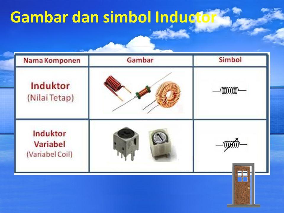 Gambar dan simbol Inductor