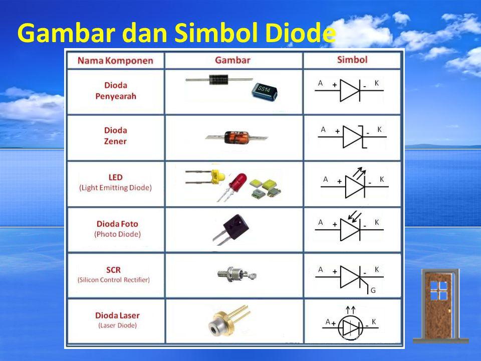 Gambar dan Simbol Diode