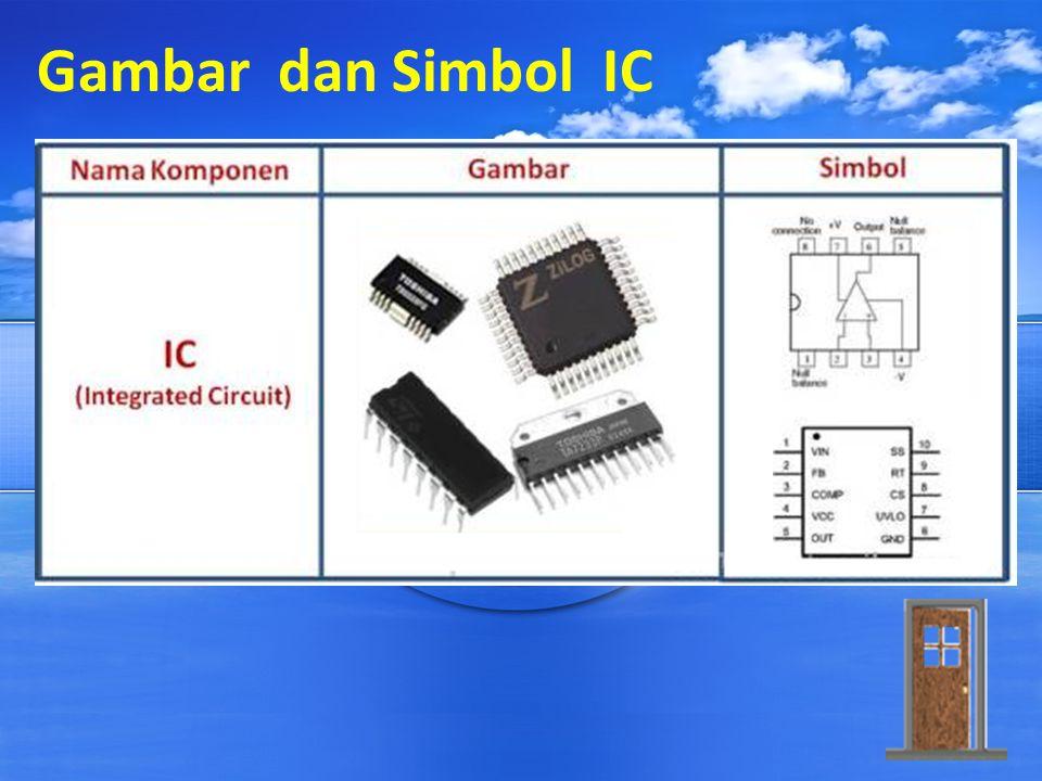Gambar dan Simbol IC