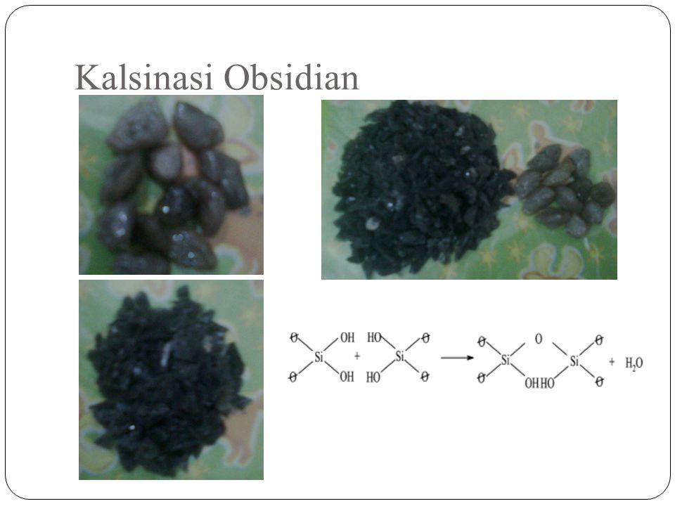 Kalsinasi Obsidian