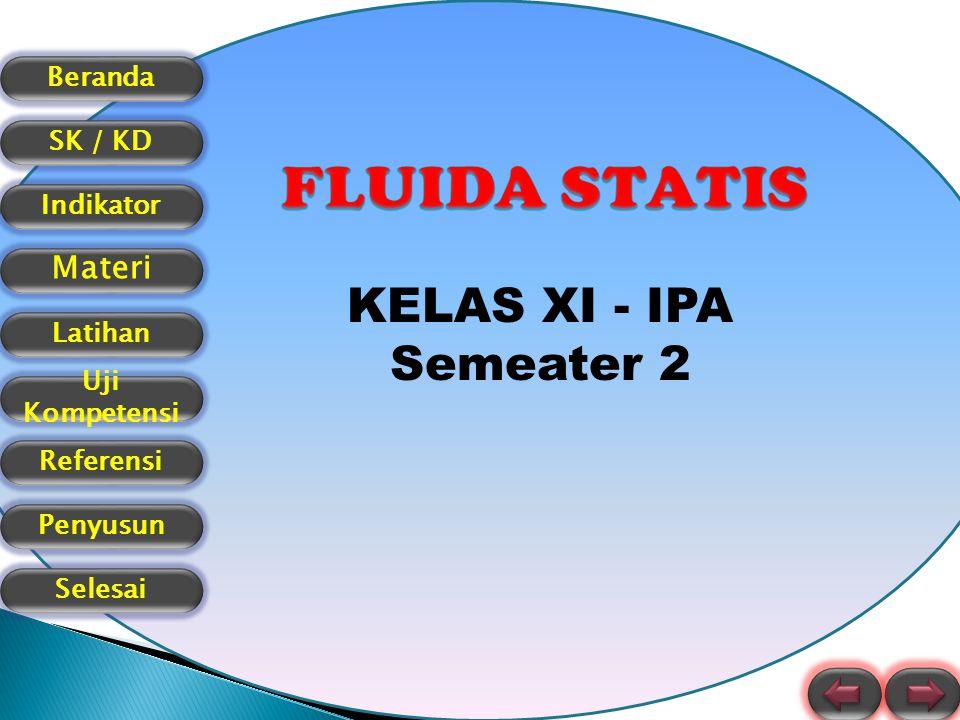 Beranda SK / KD Indikator Materi Latihan Uji Kompetensi Referensi Selesai Penyusun KELAS XI - IPA Semeater 2