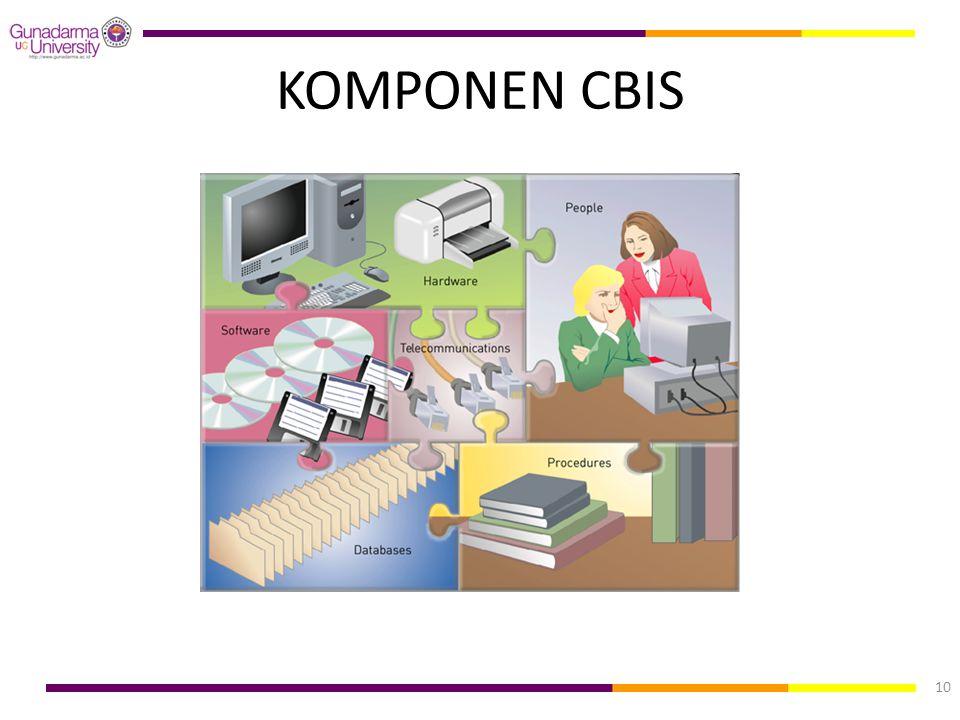 KOMPONEN CBIS 10