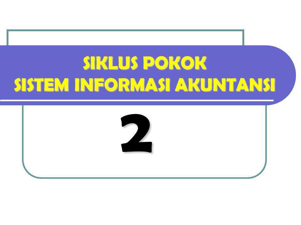 SIKLUS POKOK SISTEM INFORMASI AKUNTANSI 2